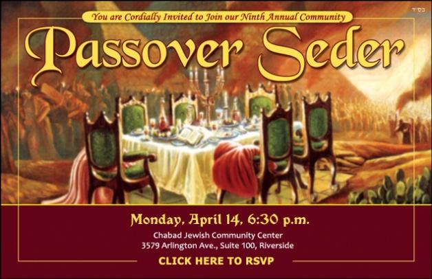 Community Passover Sed...